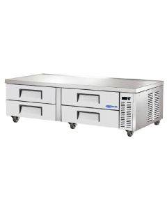 "Chef Base, 72"", 4-Drawer, Refrigerated"