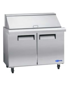 "Salad Prep Table, 48"", Mega-Top, Refrigerated, S/S"