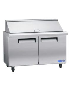"Salad Prep Table, 60"", Mega-Top, Refrigerated, S/S"