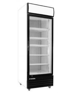 "Display Cooler, 24"", 1x Glass Door, 15ft³"