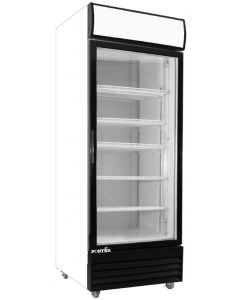 "Display Cooler, 27½"", 1x Glass Door, 22ft³"
