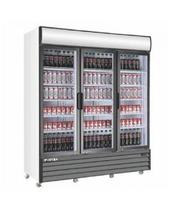 Display Cooler, Triple Door, 72ft³