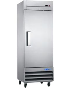"Refrigerator, 29"", Reach-in, 1x Solid Door, S/S"