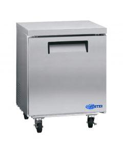 """Refrigerator, 27"""", Undercounter, 1x Solid Door,S/S"""